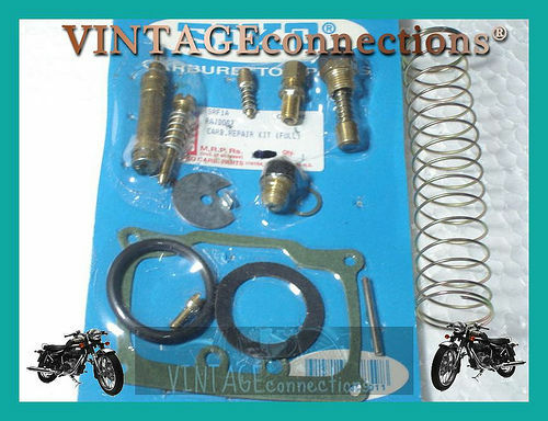 NEW ROYAL ENFIELD 350CC VM 24 MIKCARB OVERHAULING KIT