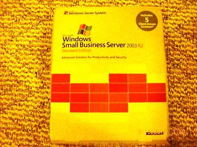 Microsoft Windows Small Business Server 2003 R2 Standard, T72-01411, 5cal,retail