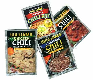 Attention-CHILI-LOVERS-Williams-Chili-Seasoning-Mixes