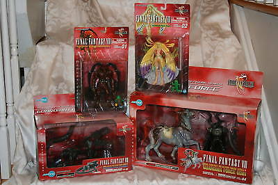 Final Fantasy Viii Action Figure Mixed Package-new