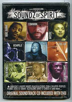 Soundz Of Spirit (dvd) Cd Included With Dvd, Brand