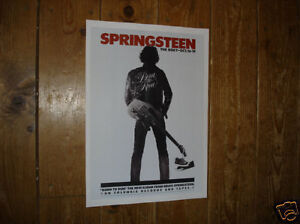 Bruce Springsteen Roxy Tour Repro POSTER