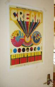 CREAM-Grateful-Dead-Concert-Repro-Tour-Poster