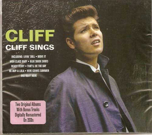 CLIFF RICHARDS CLIFF SINGS 2 CD BOX SET