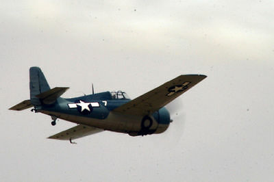 1/8 Scale American WW-II Grumman F4F Wildcat Plans,Templates, Instructions