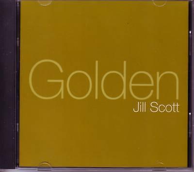 JILL SCOTT Golden 2 RARE MIXS & INSTRUMENTAL & ACAPPELLA PROMO CD Single SEALED  (Jill Scott Instrumental)