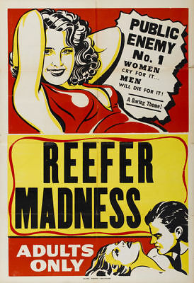 Louis J. Gasnier's Reefer madness 1936 movie poster Print A11 on Rummage
