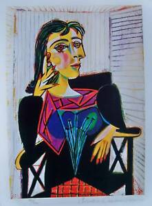 Pablo-Picasso-DORA-MAAR-Estate-Signed-Numbered-Small-Giclee