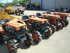 Kubota-Iseki-Yanmar-John-Deere-compact-mini-garden-tractors