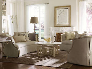 Lorenzo Old World Wood Trim Fabric Sofa Couch Chair Set Living Room Furniture