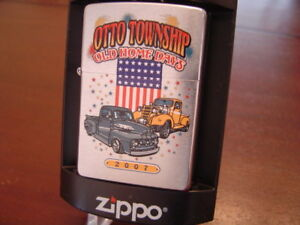 OTTO-CAR-VINTAGE-SHOW-2007-LIMITED-EDITION-095-100-MINT-IN-BOX-ZIPPO-LIGHTER