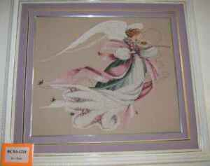 Counted Cross Stitch Kit - Pink Angel