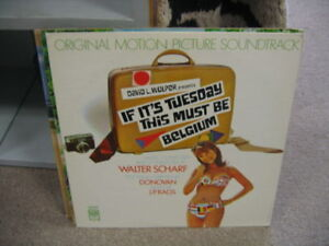 Soundtrack if its tuesday this must be belgium lp