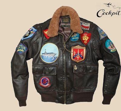 Cockpit USA (formerly Avirex Ltd) Movie Heroes Top Gun Flight Jacket SZS 36-52 , occasion d'occasion  Expédié en Belgium