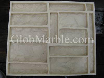 Concrete Mold. Castle Rock Veneer Stone Mold Cs 30011. Concrete Stone Mould