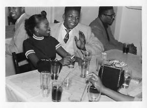 Vintage African American High School Friends Smoking Boy ...