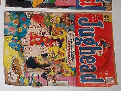 4-VINTAGE-3-JUGHEAD-1-ARCHIE-COMIC-BOOK-BETTY-CLUB-TOON