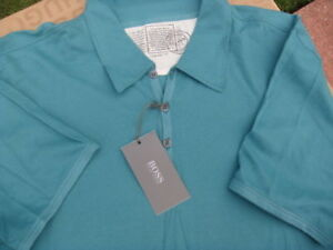 NEW-HUGO-BOSS-MENS-PADDY-GREEN-PRO-POLO-DESIGNER-JEANS-BAG-TIE-T-SHIRT-SMALL-S