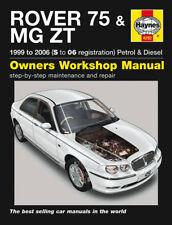 Haynes Manual 4292 Rover 75 MG ZT ZT-T 1.8 1.8T 2.0 2.5 V6 120 160 180 190 99-06