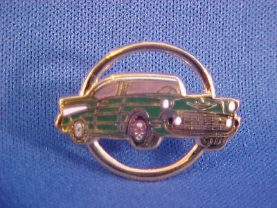 1957 Chevy Bel Air Hat/jacket Pin, Brand-new '57 Belair