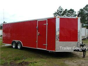 NEW-8-5-x-24-Enclosed-Carhauler-Cargo-Trailer-10K-Axles
