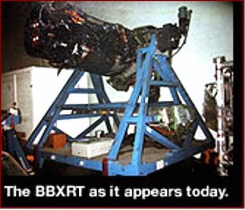 Broad Band X-Ray Telescope (BBXRT) Space Shuttle COLUMB