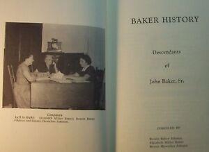 Baker-Histoire-Descendants-John-Baker-Genealogie-Livre