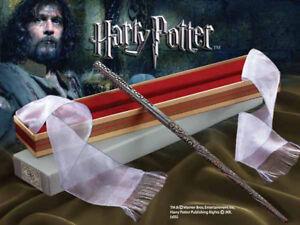Harry Potter Varita Mágica Sirius Negro + Caja Coleccionista de Ollivander