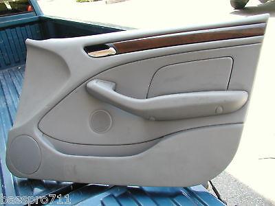 2003 Bmw 325 325i E46 Door Panel Front Right Grey Ebay