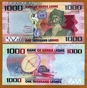 Sierra-Leone-1000-1-000-Leones-2010-P-NEW-UNC