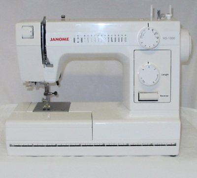 Janome Sewing Machine Model Hd 1000 Treadle Sewing Machine