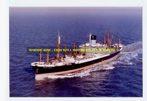 rp4722 - Blue Funnel Line Cargo Ship - Menestheus - photo 6x4