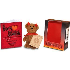 Boyds Beary Devilish Bear w/Book
