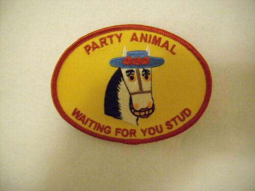 New Women LightHorse Party Animal Waiting 4U Stud Patch