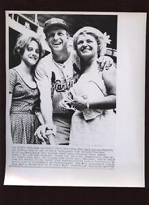 Original 1962 Stan Muaial & Family Wire Photo