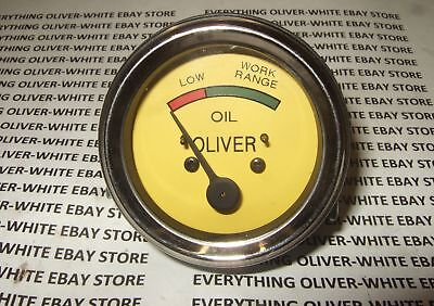 Oliver Tractor Oil Pressure Gauge Super 44 55 66 77 88