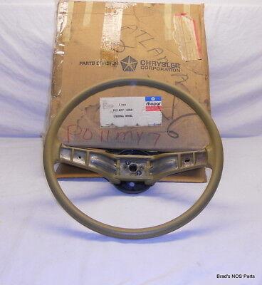 NOS MoPar 76-80 Plymouth Chrysler Dodge Steering Wheel