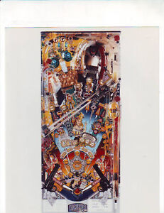 BALLY CACTUS CANYON ORIGINAL NOS FACTORY FLIPPER PINBALL MACHINE PHOTO MINT #3