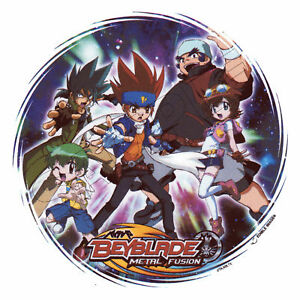Beyblade edible cake topper decoration image for Anime beyblade cake topper decoration set