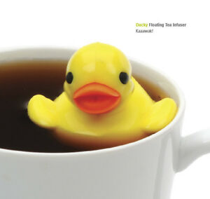 DARLING-RSVP-JUST-DUCKY-FLOATING-HOT-TEA-INFUSER-DUCK-W-DRIP-CUP-BPA-FREE-NEW