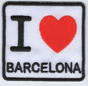 ECUSSON-PATCHE-THERMOCOLLANT-PATCH-I-LOVE-BARCELONE