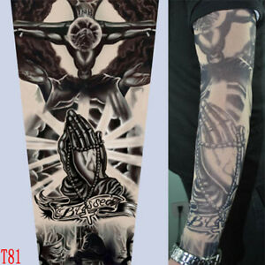 T81-Fake-Tattoo-Sleeves-Body-Arm-Stockings-Accessories