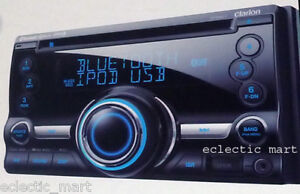 BRAND-NEW-CLARION-CX501-2-DIN-CD-USB-MP3-IPOD-BLUETOOTH-RECEIVER