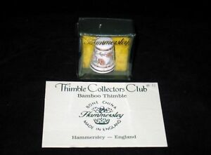 Hammersley-BAMBOO-w-Box-amp-Certificate-TCC-Thimble-Collector-Club