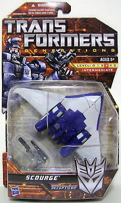 Hasbro Transformers Generations Deluxe Class Action Figure Scourge - 28592 Toys
