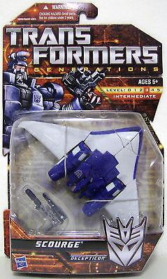 Scourge Transformers Generations Deluxe Class Decepticon Figure 2011
