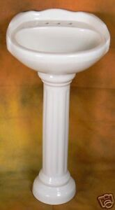SMALL PEDESTAL SINK 16
