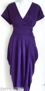 NEW-MONSOON-AMARA-PURPLE-SILK-TULIP-DRESS-10-EVENING-WEDDING
