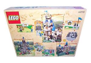 NEW Lego Castle 6098 Knight's Kingdom KING LEO'S CASTLE Sealed