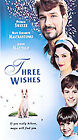 Three Wishes (VHS, 1997, Clam Shell Case)